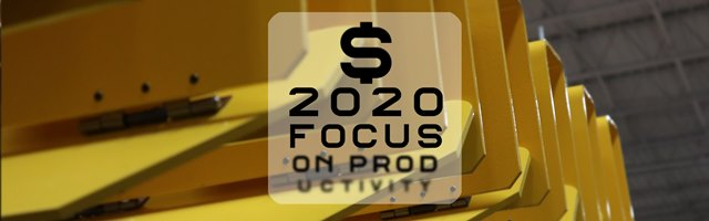 In 2020, Focus on Productivity